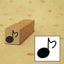 画像1: 音符 1スタンプ