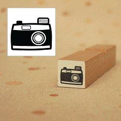 画像1: レトロカメラスタンプ