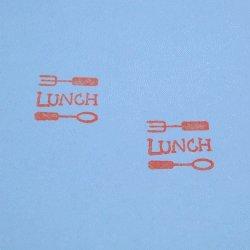 画像2: LUNCHスタンプ