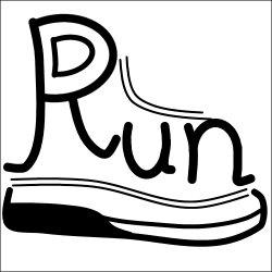 画像1: Runスタンプ