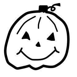 画像1: ハロウィンかぼちゃB