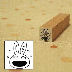 画像1: 笑い ぴょこちゃんスタンプ
