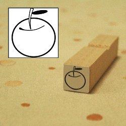 画像1: りんごスタンプ