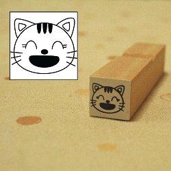 画像1: 笑い にゃんすけスタンプ