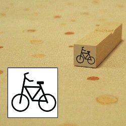 画像1: 自転車スタンプ