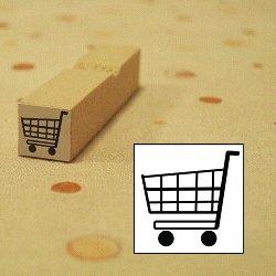 画像1: 買い物カゴスタンプ
