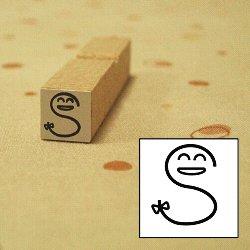 画像1: かおファベット sスタンプ