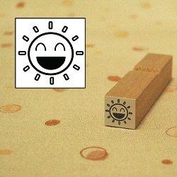 画像1: 天気 はれスタンプ