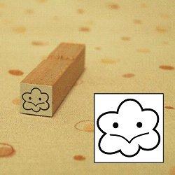 画像1: 天気 くもりスタンプ