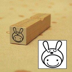 画像1: 着ぐるみ ウサギちゃんスタンプ
