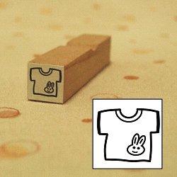 画像1: Tシャツ ウサギさんスタンプ