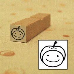 画像1: リンゴ帽子くん1スタンプ