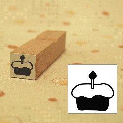 画像1: ローソク1本 ケーキスタンプ