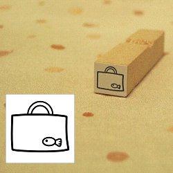 画像1: 幼稚園バッグ さかなちゃんスタンプ