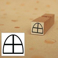 画像1: 窓スタンプ