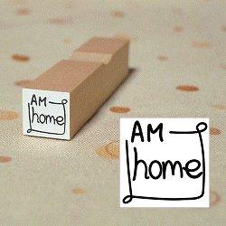 画像1: 枠AM homeスタンプ