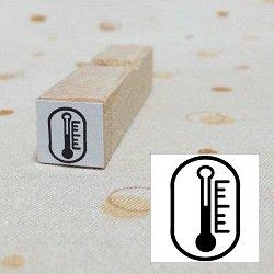 画像1: 温湿度計スタンプ