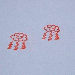 画像2: カミナリ雲スタンプ