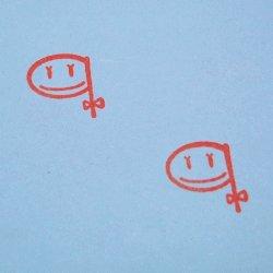 画像2: かおファベット qスタンプ