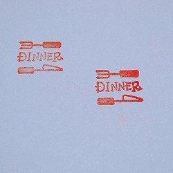 画像2: DINNERスタンプ