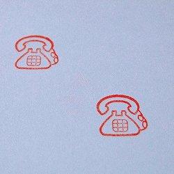 画像2: レトロ 電話スタンプ