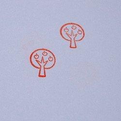画像2: リンゴの木スタンプ