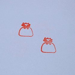 画像2: ラッピングプレゼント 袋スタンプ