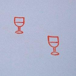 画像2: ワイングラス 白ワインスタンプ
